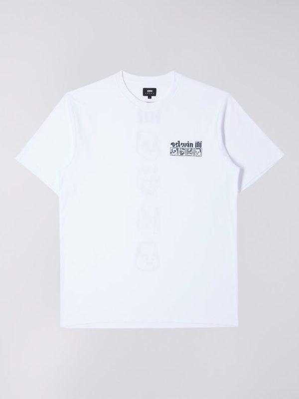 T-Shirt - HOKUSAI NOH MASKS TS T-Shirt