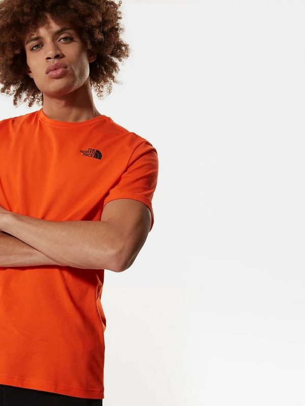 T-Shirt - M Red box tee shirt